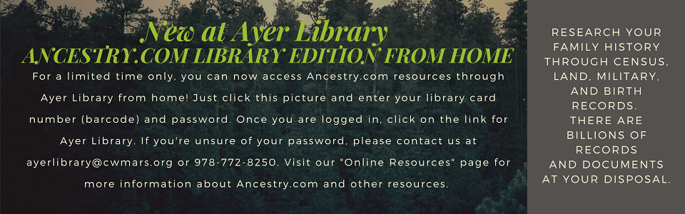 Ancestry Library Edition from Home