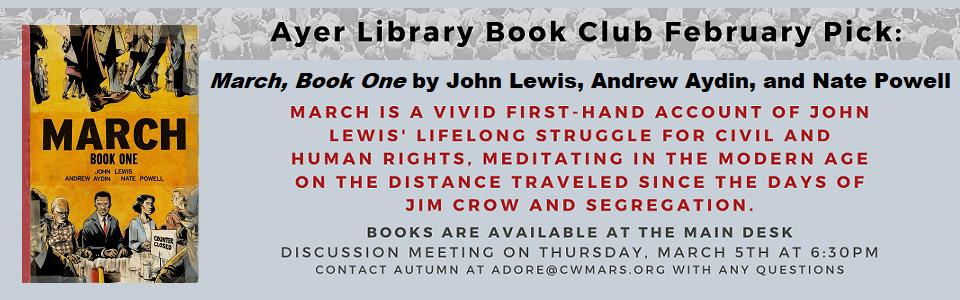 Book Club slider March
