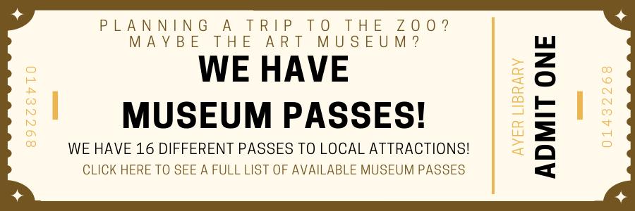 MUSEUM PASSES WEB BANNER