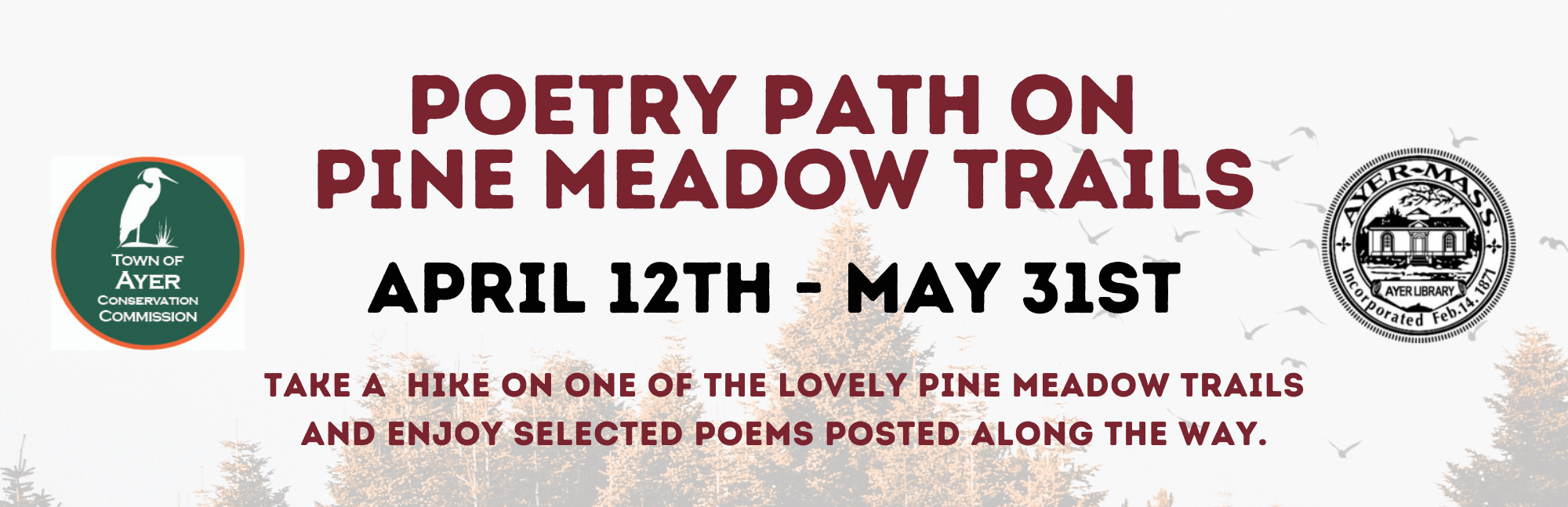 Poetry Path Banner