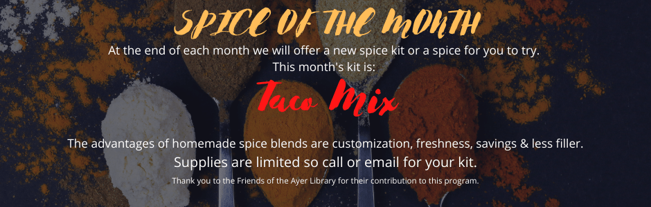 Taco Spice Month